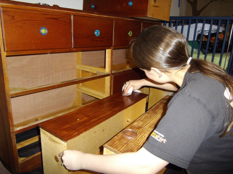 baby nursery changing dresser  table woodworking plans